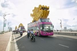 Khám phá tuyến xe bus 2 tầng phục vụ du lịch đầu tiên tại Đà Nẵng