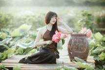 """Chụp choẹt full thẻ nhớ với CÁNH ĐỒNG SEN siêu rộng """"đẹp rụng tim"""" ở Tiền Giang"""