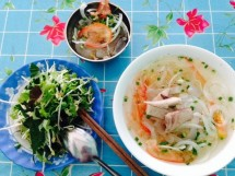 Bún lá cá dầm Ninh Hòa