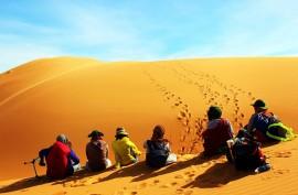 Địa điểm du lịch Mũi Né - Đồi cát bay