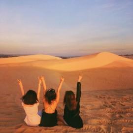 Du Lịch Mũi Né - Đồi cát Mũi Né