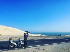 Bí quyết khi đi du lịch bụi Mũi Né bằng xe máy sau Tết