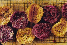 Đặc sản Mũi Né - Bánh rế