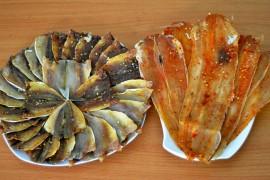 Đặc sản Mũi Né - Hải sản khô