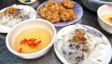 Đặc sản du lịch Hạ Long - Bánh cuốn chả mực