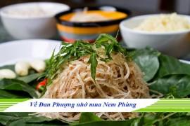 Đặc sản Hà Nội - Nem Phùng Đan Phượng