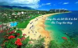 Những điều cần biết khi đi du lịch Nha Trang theo tháng