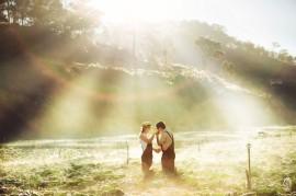 """""""Bật mí"""" những địa điểm chụp ảnh cưới đẹp ở Đà Lạt"""