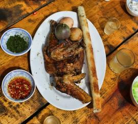Địa chỉ 10 quán cơm lam gà nướng Đà Lạt