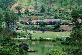 Hình ảnh làng cù lần ở Đà Lạt thơ mộng, lãng mạn