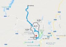 Hướng dẫn đường đi đỉnh Langbiang Đà Lạt