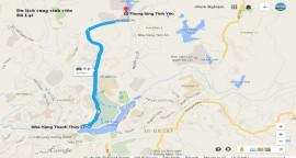 Hướng dẫn đường đi đến Thung Lũng Tình Yêu ở Đà Lạt