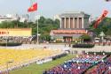 Hình ảnh về quảng trường Ba Đình ở Hà Nội