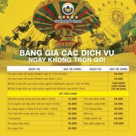 Giá vé vào cửa Thiên đường Bảo Sơn