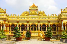 Tour Chiêm Bái - Vãng Cảnh 10 Ngôi Chùa Linh Thiêng Ở Miền Tây Nam Bộ 2 Ngày