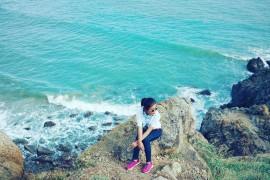Chiêm ngưỡng vẻ đẹp nên thơ, lãng mạn của bãi biển Vọng Nguyệt ở Vũng Tàu