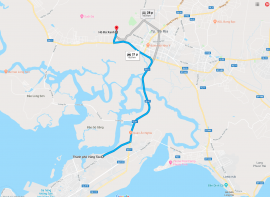Hồ Đá Xanh cách Vũng Tàu bao xa?