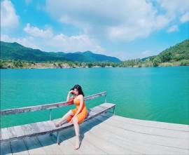 """Hồ Đá Xanh - Địa điểm chụp hình """"ảo tung chảo"""" ở Bà Rịa Vũng Tàu"""
