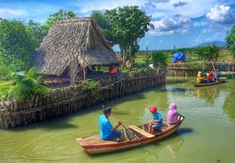 Tứ phương thất đảo – khu miệt vườn đậm chất miền Tây ở Vũng Tàu
