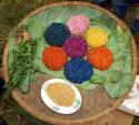 Đặc sản Sapa – xôi bảy màu Nùng Dín