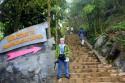 Hướng dẫn đường đi lên núi Hàm Rồng Sapa