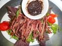 Đặc sản Sapa - Thịt trâu gác bếp