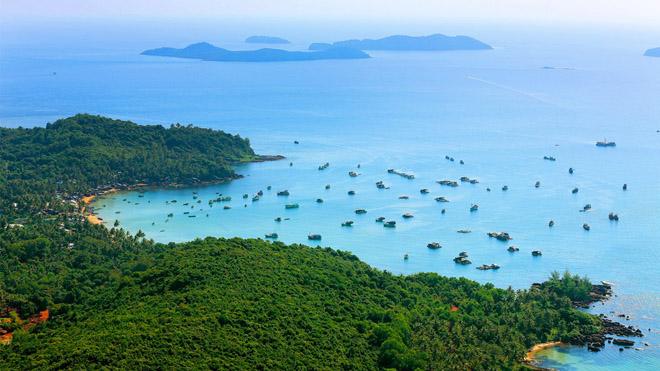 Đẹp ngỡ ngàng với thiên nhiên Nam Phú Quốc