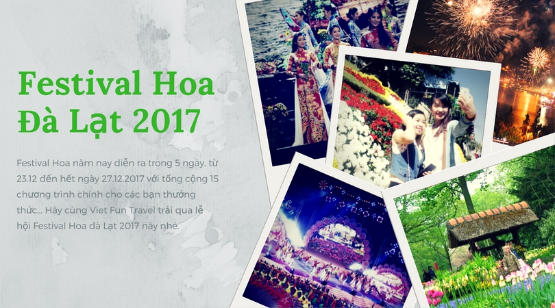 le hoi festival Hoa Da Lat 2017