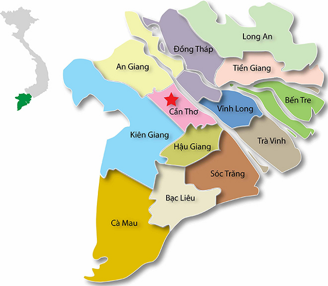 Lụm Ngay Bản đồ Du Lịch 13 Tỉnh Miền Tay Nam Bộ đầy đủ Nhất 2020 Viet Fun Travel