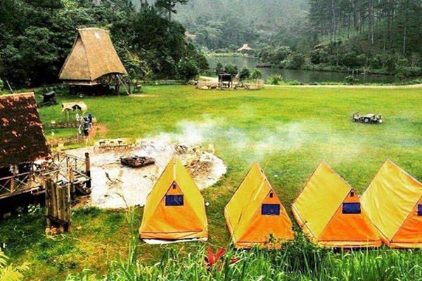 """""""Điểm mặt"""" 10 địa điểm cắm trại thú vị ở Đà Lạt"""