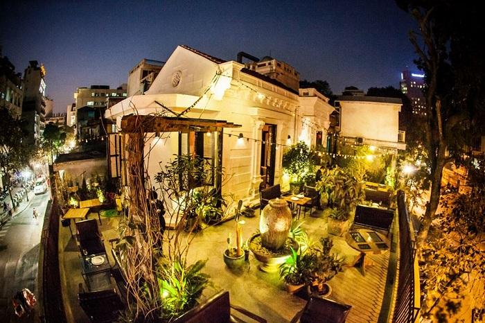 Thông tin những quán cafe ngoài trời đẹp ở Hà Nội