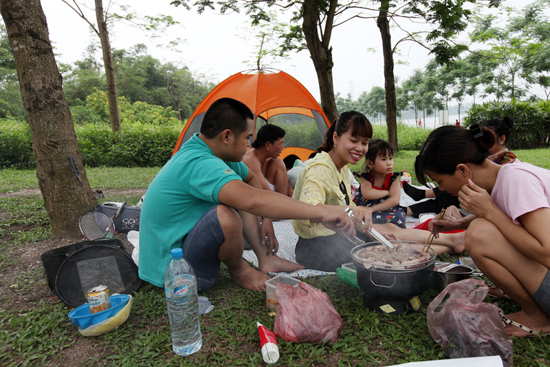 huong dan duong di den Dong Mo o Ha Noi
