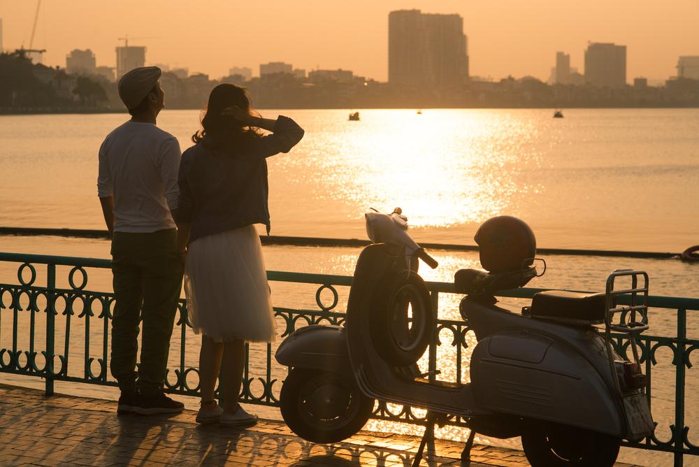 phuong tien di du lich Ha Noi ly tuong
