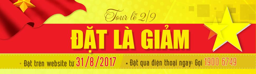 Thông báo Event Du Lịch 2/9/2017