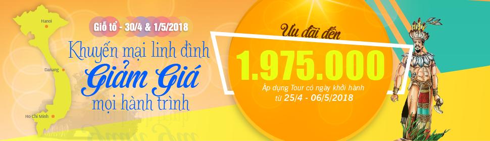 Tour Du Lịch 30/04/2018