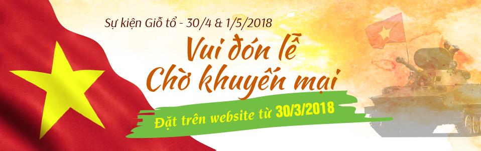 Thông báo Event Tour Du Lịch 30/04/2018