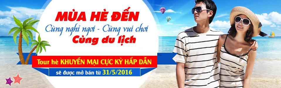 Banner Thông Báo Event Hè 2016