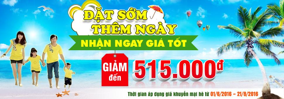 Banner Chính Thức Event Du Lịch Hè 2016