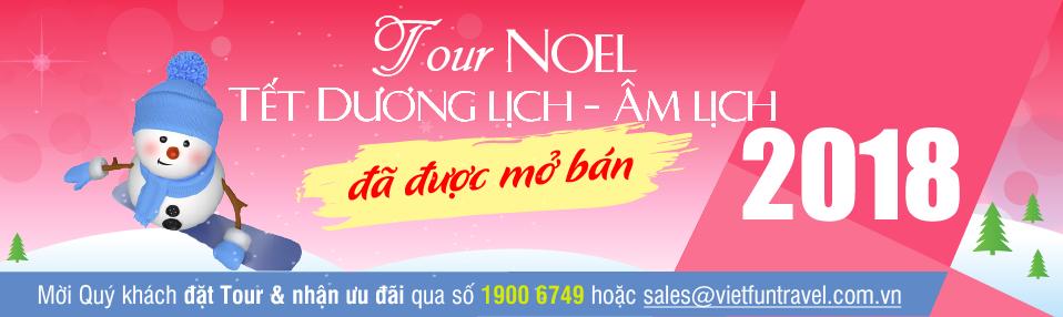 Mở bán tour Noel - TDL - TND