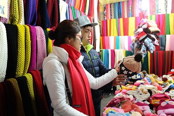 Sản phẩm len ở Đà Lạt rất đa dạng về mẫu mã