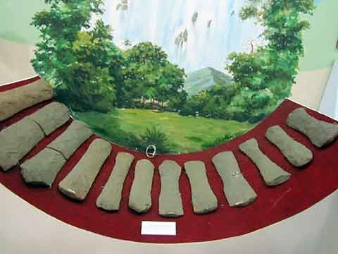 Bộ đàn đá cách đây 3000 năm vẫn còn được lưu giữ tại bảo tàng Lâm Đồng