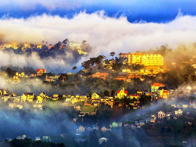 Sương mù là một hiện tượng đặc trưng của Đà Lạt
