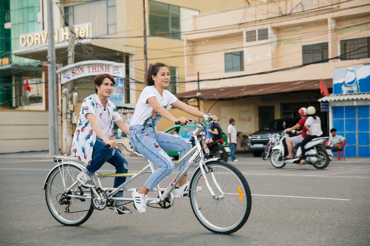 Kết quả hình ảnh cho Thuê xe đạp đôi, xe điện ở Vũng Tà u