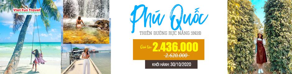Tour Du Lịch Hà Nội - Phú Quốc 3 Ngày 2 Đêm (Câu cá + Lặn Ngắm San Hô)