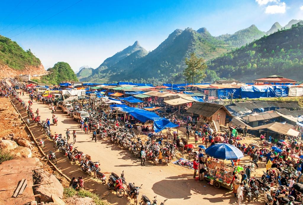 Chợ phiên Bắc Hà - Lào Cai