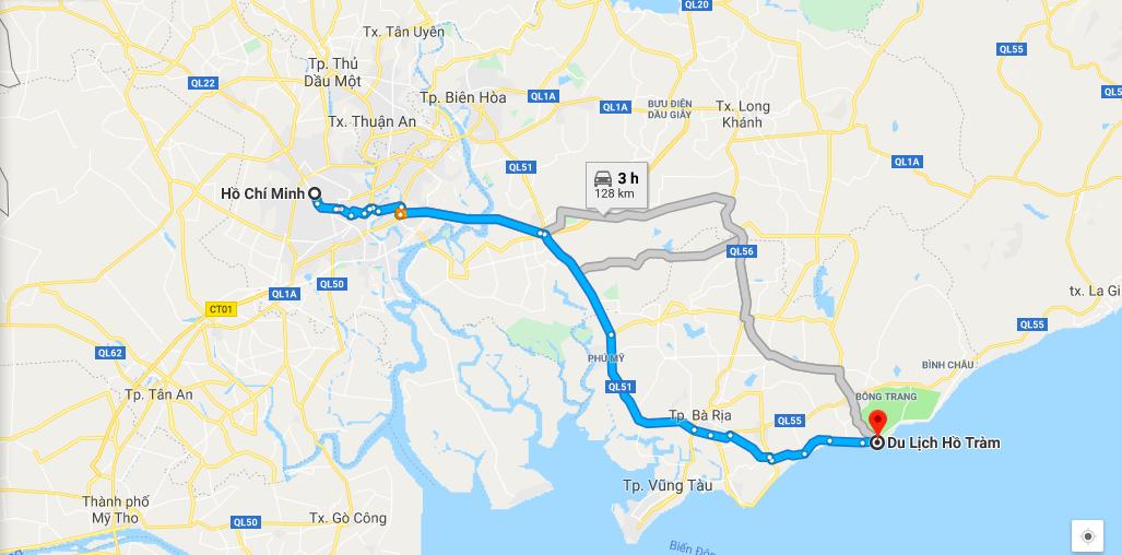 Kinh nghiệm đi phượt Hồ Tràm Vũng Tàu